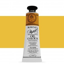 Daler Rowney : Artists' Oil Paint : 38ml :Indian Yellow