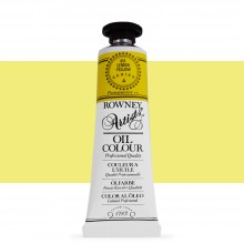 Daler Rowney : Artists' Oil Paint : 38ml : Lemon Yellow