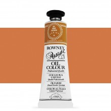 Daler Rowney : Artists' Oil Paint : 38ml : Raw Sienna