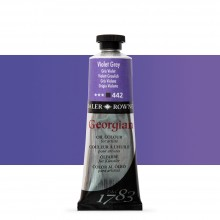 Daler Rowney : Georgian Oil Paint : 75ml : Violet Grey