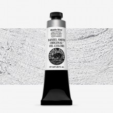 Daniel Smith : Original Oil Paint : 37ml : Metallic Silver
