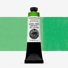 Daniel Smith : Original Oil Paint : 37ml : Permanent Green Light