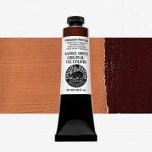 Daniel Smith : Original Oil Paint : 37ml : Transparent Red Oxide