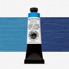 Daniel Smith : Water Soluble Oil Paint : 37ml : Cerulean Blue Chromium