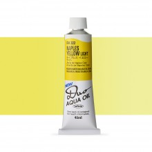 Holbein Duo-Aqua : Naples Yellow Light : 40ml tube