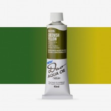 Holbein Duo-Aqua : Greenish Yellow : 40ml tube