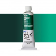 Holbein : Duo Aqua : Watermixable Oil Paint : 40ml : Viridian Hue