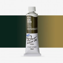 Holbein : Duo Aqua : Watermixable Oil Paint : 40ml : Olive Green