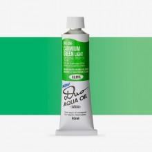 Holbein Duo-Aqua : Cadmium Green Light : 40ml tube
