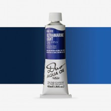 Holbein Duo-Aqua : Ultramarine Blue Light : 40ml tube