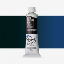 Holbein Duo-Aqua : Prussian Blue : 40ml tube