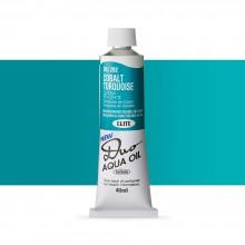 Holbein Duo-Aqua : Cobalt Turquoise : 40ml tube