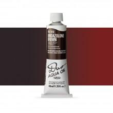 Holbein Duo-Aqua : Imidazolone Brown : 40ml tube