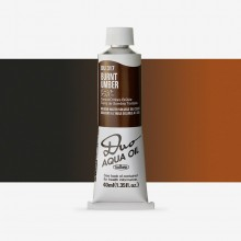 Holbein Duo-Aqua : Burnt Umber : 40ml tube