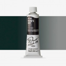 Holbein Duo-Aqua : Paynes Grey : 40ml tube