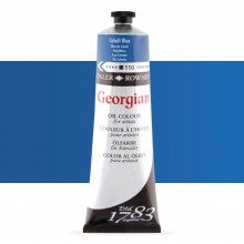 Daler Rowney : Georgian Oil Paint : 225ml : Cobalt Blue Hue