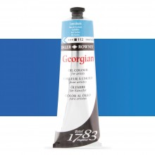 Daler Rowney : Georgian Oil : 225ml : Coeruleum Blue