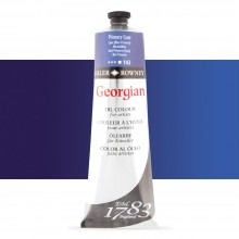 Daler Rowney : Georgian Oil Paint : 225ml : Primary Cyan