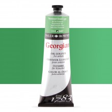Daler Rowney : Georgian Oil Paint : 225ml : Permanent Green Light