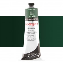 Daler Rowney : Georgian Oil Paint : 225ml : Hookers Green