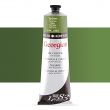 Daler Rowney : Georgian Oil Paint : 225ml : Sap Green