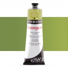 Daler Rowney : Georgian Oil Paint : 225ml : Yellow Green