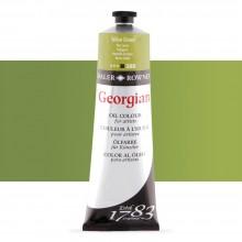 Daler Rowney : Georgian Oil Paint : 225ml : Yellow Green