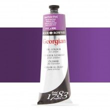 Daler Rowney : Georgian Oil Paint : 225ml : Cobalt Violet Hue