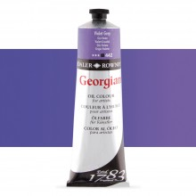 Daler Rowney : Georgian Oil Paint : 225ml : Violet Grey
