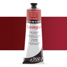 Daler Rowney : Georgian Oil Paint : 225ml : Alizarin Crimson