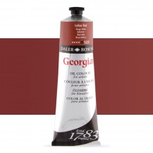Daler Rowney : Georgian Oil Paint : 225ml : Indian Red