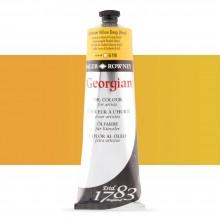 Daler Rowney : Georgian Oil Paint : 225ml : Cadmium Yellow Deep Hue