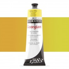 Daler Rowney : Georgian Oil Paint : 225ml : Cadmium Yellow