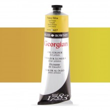 Daler Rowney : Georgian Oil Paint : 225ml : Primary Yellow