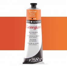 Daler Rowney : Georgian Oil Paint : 225ml : Pyrrole Orange