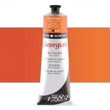 Daler Rowney : Georgian Oil Paint : 225ml : Pyrrole Orange