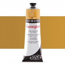 Daler Rowney : Georgian Oil Paint : 225ml : Yellow Ochre