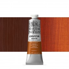 Griffin Alkyd Oil Paint : 37ml : Burnt Sienna
