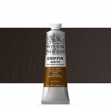 Winsor & Newton : Grffin : Alkyd Oil Paint : 37ml : Burnt Umber