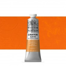 Winsor & Newton : Grffin : Alkyd Oil Paint : 37ml : Cadmium Orange