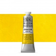 Winsor & Newton : Grffin : Alkyd Oil Paint : 37ml : Cadmium Yellow Light Hue