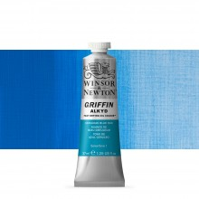 Winsor & Newton : Grffin : Alkyd Oil Paint : 37ml : Cerulean Blue Hue
