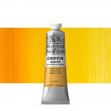 Winsor & Newton : Grffin : Alkyd Oil Paint : 37ml : Indian Yellow