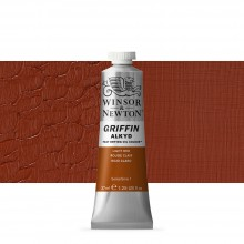Winsor & Newton : Grffin : Alkyd Oil Paint : 37ml : Light Red