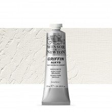 Winsor & Newton : Grffin : Alkyd Oil Paint : 37ml : Mixing White