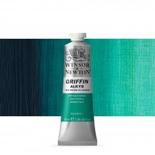Winsor & Newton : Grffin : Alkyd Oil Paint : 37ml : Phthalo Green