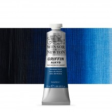 Winsor & Newton : Grffin : Alkyd Oil Paint : 37ml : Prussian Blue