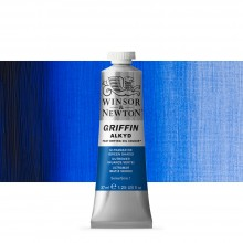 Winsor & Newton : Grffin : Alkyd Oil Paint : 37ml : Ultramarine (Green Shade)