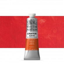 Winsor & Newton : Grffin : Alkyd Oil Paint : 37ml : Vermillion Hue