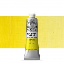 Winsor & Newton : Grffin : Alkyd Oil Paint : 37ml : Winsor Lemon